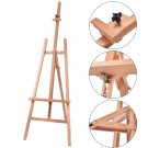 New Simple Wood Wooden Easel Art Stand Drawing Sketching Painting Display US OY