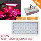 600W LED Grow Light Lamp Full Spectrum Panel Veg Flower for Medical Indoor Plant