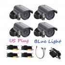 1200TVL High Resolution Waterproof CCTV Surveillance Security Cameras OU