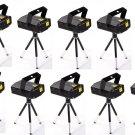 10x Mini Projector DJ Disco LED Light Stage Party Laser Lighting Show Plug H