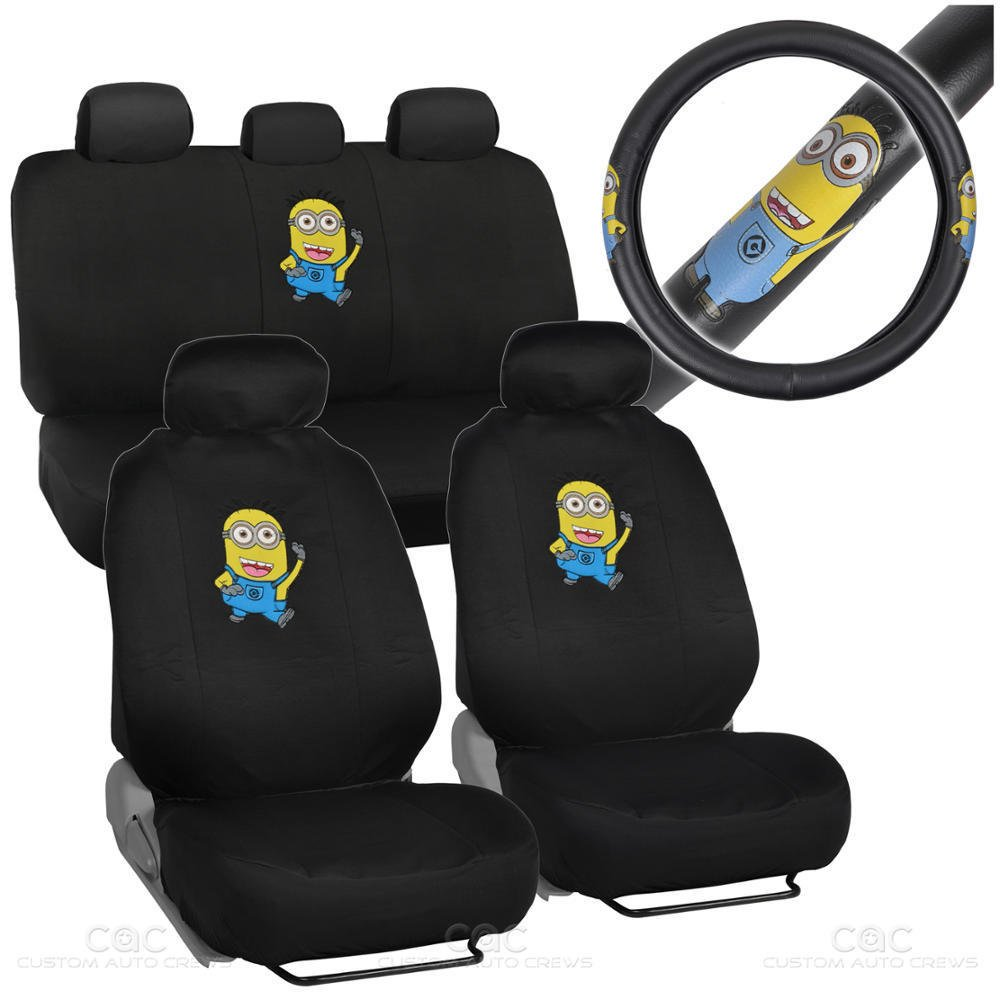 Despicable Me Car Seat Covers
