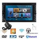 6.2 Inch Car Stereo DVD Player Bluetooth iPod MP3 TV GPS Navigation HD Camera L