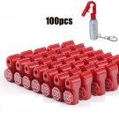 New 100 Retail Security Stop Lock Detacher Key Display Hook Anti-Theft 6mm OY