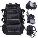 Deluxe camera Backpack Pro Bag Case Canon Nikon DSLR SLR BLACK Multifunctional