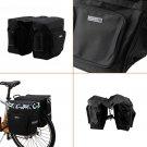 30L Cycling Bicycle Bag Bike Double Side Rear Rack Tail Seat Pannier Bag Fashion