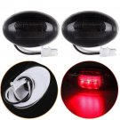 Ford F350 F Series 4pc LED Fender Bed Side Marker Lights Smoked Lens OY
