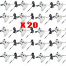 20x New White Wired USB Game Pad Controller For Microsoft Xbox 360 PC Windows OY