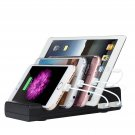 USB Charger Station Organizer Multi Charging Dock iPhone Samsung Tablet 4 PortOY
