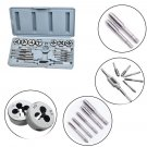 16 Pcs Metric Tap And Die Set Bolt Screw Extractor Puller Kit New Removal