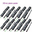 10 X High Power 10Miles Range 532nm Green Laser Pointer Light Pen Visible Beam Y