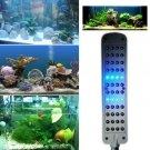 48 LED White Blue Light Fish Tank Aquarium Water Plant Clip Lamp