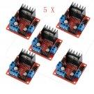LOT5 H Bridge DC Stepper Motor Drive Controller Board Module For Arduino L298N