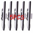 5pcs Wired Infrared Sensor Bar for Nintendo Wii Console Black with Silver