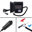 Air Compressor Portable Pump 300 PSI Auto Car SUV Tire 12V volt + 3 Adapters