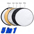 80cm 32 5 in 1 Photography Studio Photo Disc Collapsible Light Reflector