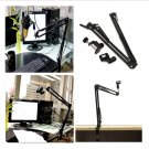 Mic Microphone Suspension Boom Scissor Arm Stand Holder for Studio Shock Mount