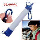 Camping Hiking Emergency Survival Portable Water Filter Gear