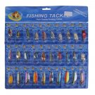 Lot 30 PCS Fishing Lures Crankbaits Hooks Minnow Baits Tackle New