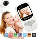 NEW Baby Monitor Color LCD Wireless 2.4GHz Night Vision Audio Video Camera