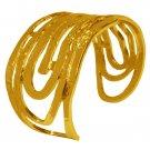 Bracelet AMELIE, swirling textured, Karine Sultan