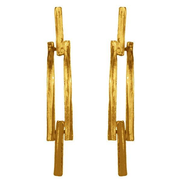 Earrings CAMILLE,  Pendant Earrings, Karine Sultan
