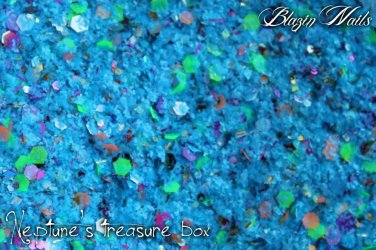 'neptune's treasure box' glitter mix