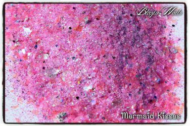 'mermaid kisses' glitter mix