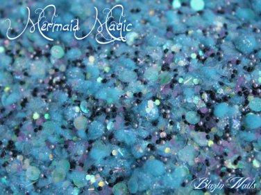 'mermaid magic' glitter mix