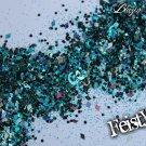 'feisty' glitter mix