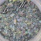 'iridescent silver holo' glitter mix