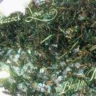 'peacock love' glitter mix
