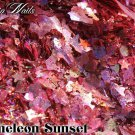 'chameleon sunset' glitter mix