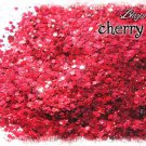 'cherry pie' glitter mix