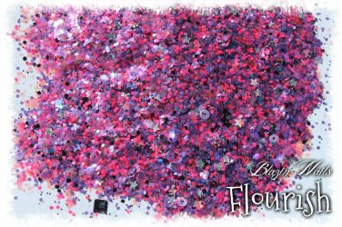 'flourish' glitter mix