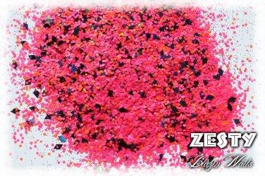 'zesty' glitter mix