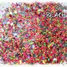 'beach bum' glitter mix