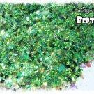 'reptilian' glitter mix