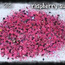 'raspberry sundae' glitter mix