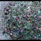 'dragon's breath' glitter mix