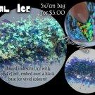 2g bag of opal ice iridescent opal effect