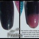 'pristine' glitter acrylic mix colour change