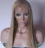 """14"""" long Indian Remy, blond , straight."""