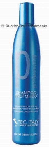 Tec Italy Professional Shampoo Profondo - deep cleaning shampoo 10.1 oz