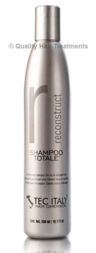 Tec Italy Reconstruct Shampoo Totale 10.1 oz - for dry & damaged hair