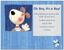 Announcing Our Baby Boy