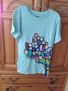 Women's Aqua Shirt By Roxy Size Small
