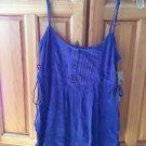 Women's Blue Volcom Camisole Top Size Medium