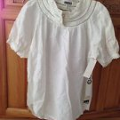 Women's Eyelet Blouse Size Extra Small by Quiksilver