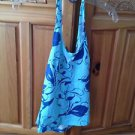 Women's Printed blue Halter Top Size large by Rusty ^