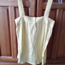 Women's yellow camisole top by roxy size extra small